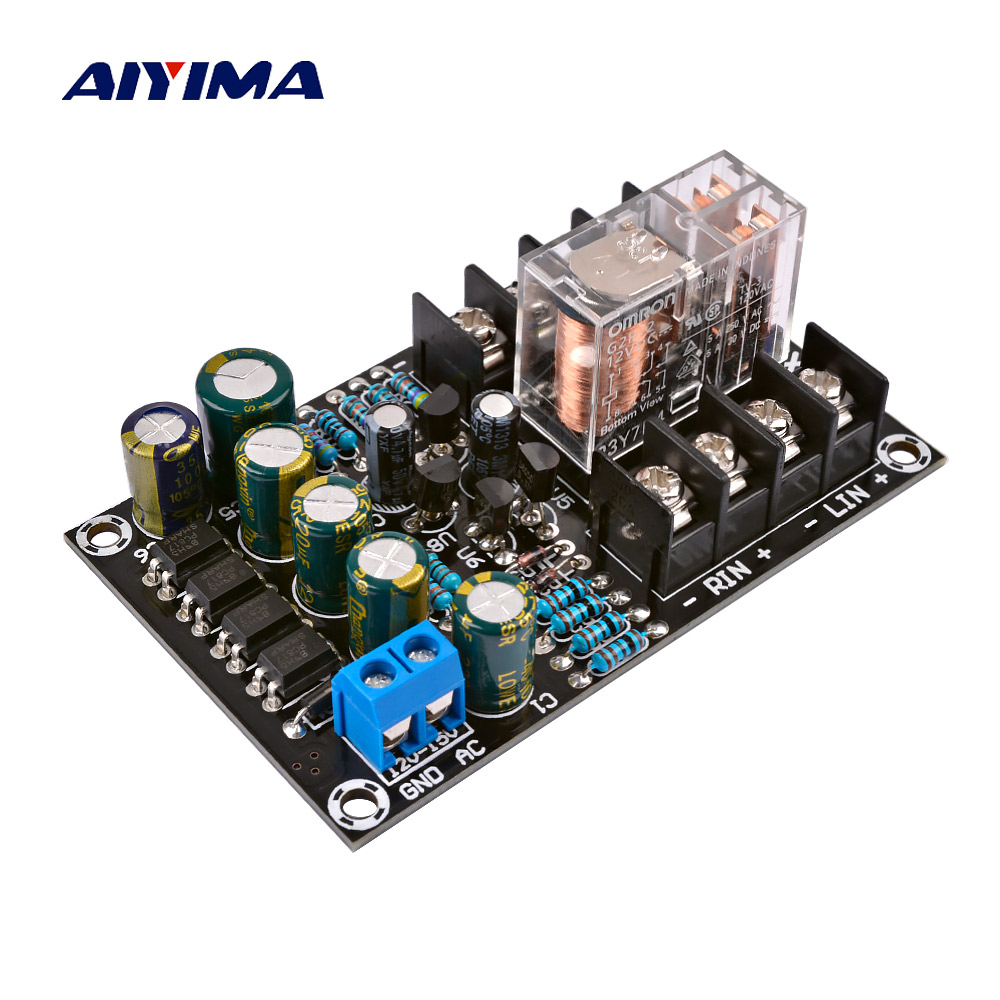 AIYIMA 2.0 Digital Power Amplifiers Dedicated Audio Speaker Protection Board BTL Circuit DIY For Home Theater Sound System