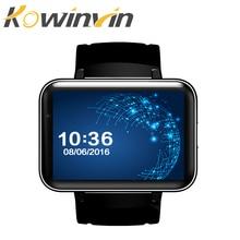 DM98 Bluetooth Smart часы 2,2 дюймов ОС Android 3g Smartwatch телефон MTK6572 Dual Core 1,2 ГГц 512 МБ Оперативная память 4 ГБ Встроенная память Камера WCDMA gps