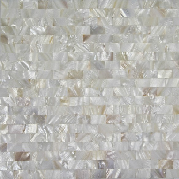 Free Shipping Strip Shell Mosaic Tiles Pure White Shell Tiles Naural Mother Of Pearl Tiles