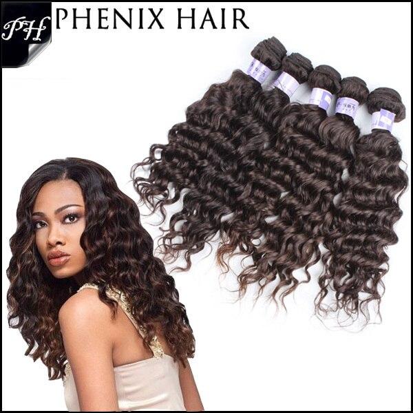 Black Diamond Onyx 100 Brazilian Human Hair Deep Weaving Extension 10 12 14