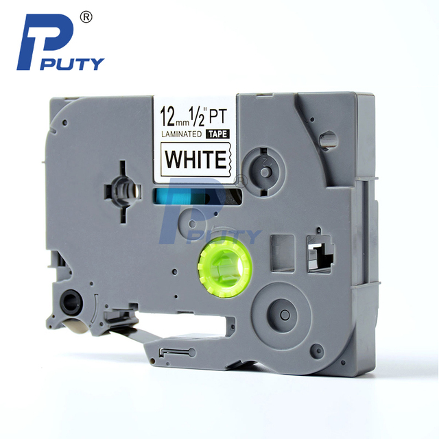 10 pcs Puty Compatible Laminated Label Maker Tape TZ 231 TZE 231-in ...