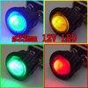 (20Pcs/4Models) 23mm Mini Round Rocker Switch 12V LED illuminated Car DIY Toggle switch ON-OFF Power Push Button