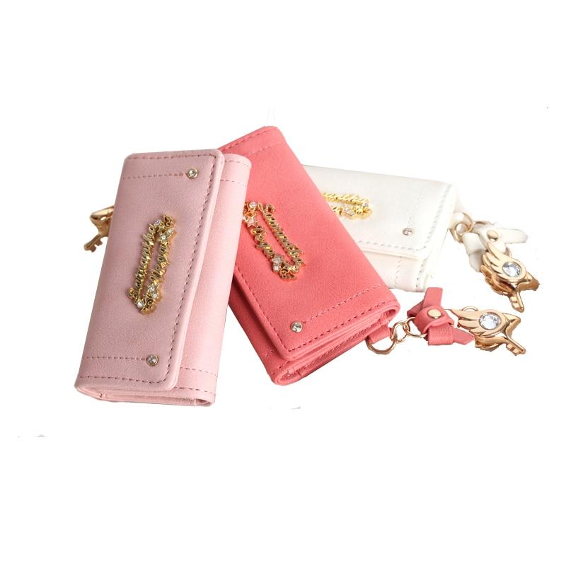 2017 cardcaptor card captor sakura 20th anniversary key case bag holders wallet purse