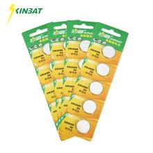 Здесь можно купить  KINBAT 20pcs/lot CR2025 DL2025 ECR2025 GPCR2025 3V Button Cell Lithium Battery For Car Remote Control Calculator PDA Pedometer
