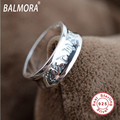 Christmas Gift 100% real 925 sterling silver jewelry buddhism mantra rings for women men lovers high quality Bijoux SY20284