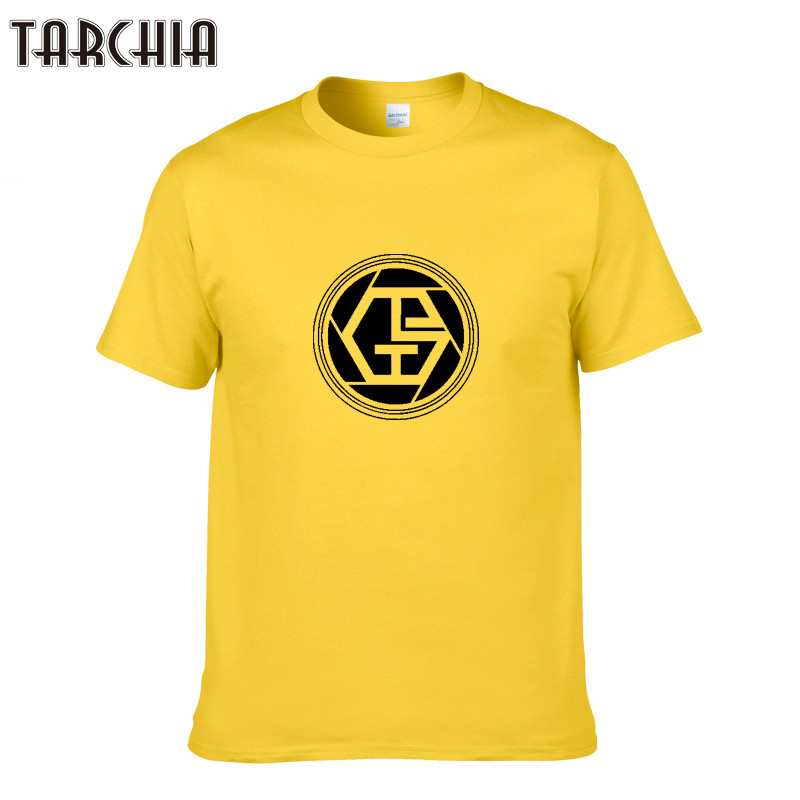 TARCHIA 2019 Summer New Men's Short-Sleeved O-Neck Printing T-Shirt Men Short Sleeve Tees Tops Large Size T Shirt Homme