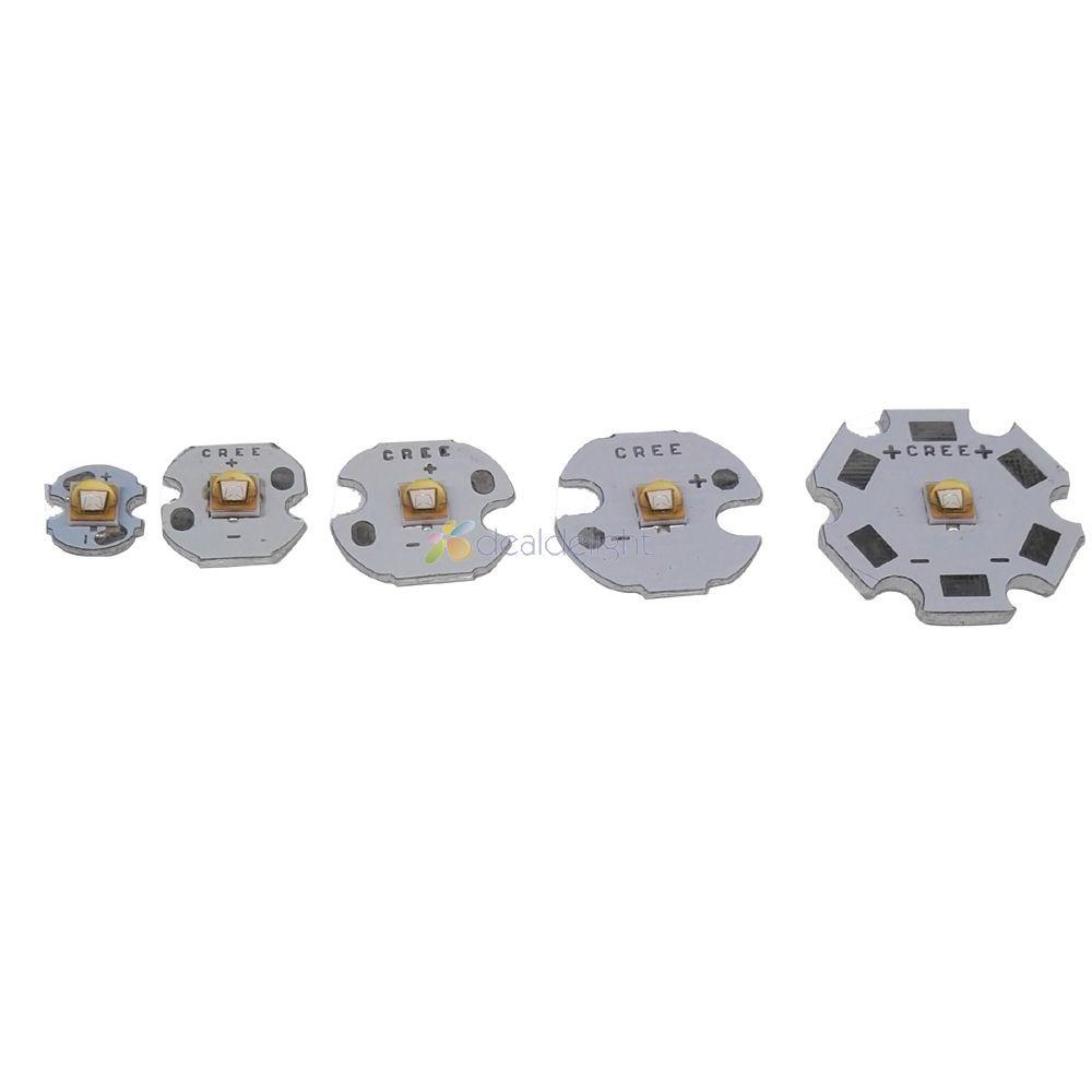 10pcs 5W LG3535 High Power LED Emitter UV Ultra Violet 380-385nm 395nm with 8mm/12mm/14mm/16mm/20mm PCB