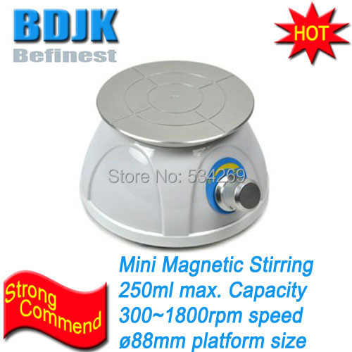MINIP-25 Plastic Laboratory Mini Magnetic Stirrer 250ml Max. Stirring Capacity 0 ~2500rpm Speed  цены