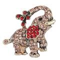 Модный маленький слон Брошь pin кристалл Rhinestone броши животных Броши для женщин моды украшение брошь ювелирных изделий
