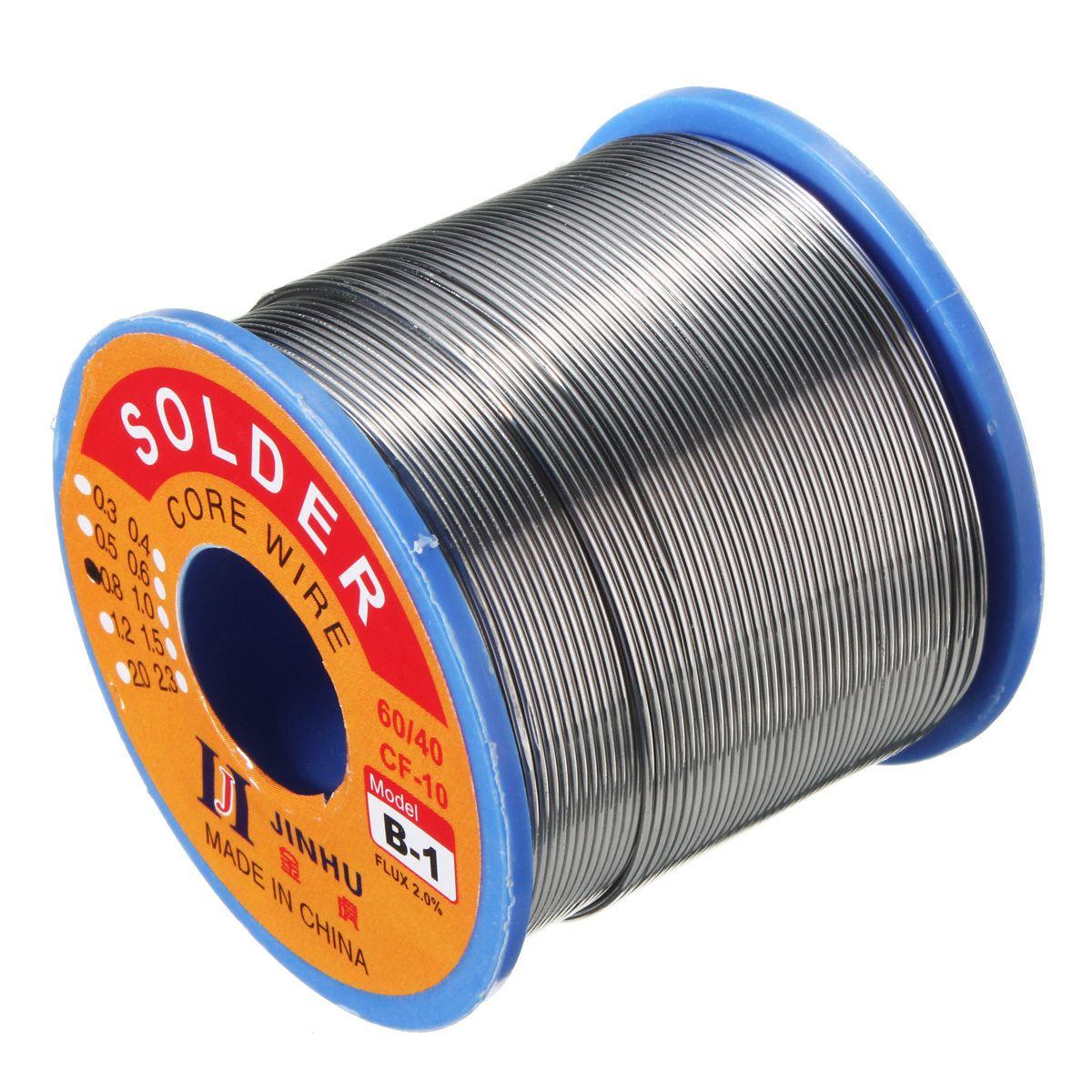 500g 60/40 pb Solder Wire Rosin Core Saldatura 2% Flux 0.7 Mm 1 Bobina