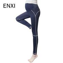 ENXI Maternité Jambières De Yoga Élastique Pantalons De Sport Pour Femmes  Enceintes Printemps été Vêtements de Grossesse Formati. 8bdf879d7e6