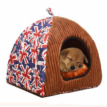 Soft Winter House For Dogs Cats Puppy Pet Bed Small Dog Sofa Crate Cushion Dog Live Kennel Nest Tent Mat Doghouse Dog Bed(China)