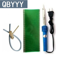 QBYYY 1 set Opel G M Vauxhall dashboard pixel fix lcd connector cable electric solder iron t-head rubber strip