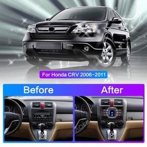 "Image 2 - Autoradio Multimedia Speler 2 Din 9 ""Android 8.1 Auto Radio Navigatie Voor Honda Crv CR V 2006 2011 stereo Wifi Navi Gps"