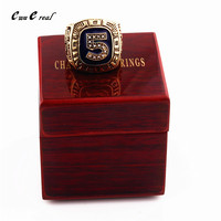 Producer Direct Joe Dimaggio Baseball Champion Ring Replicas Rings Wooden Box Sports Series Commemorative Birthday Gifts