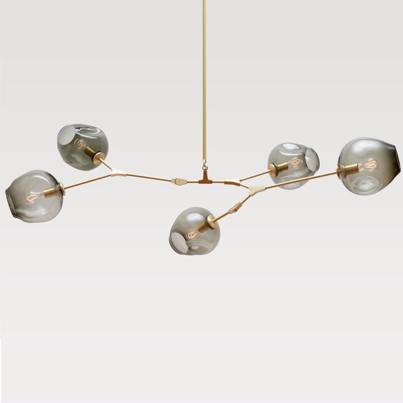 Lindsey Adelman Globe Ramification Bulle Lustre 110 v 220 v Moderne Lustre Lumière Éclairage - 4
