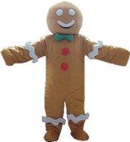 Печенье ребенок костюм персонажа из мультфильма Колобок талисман пользовательских продуктов на заказ Бесплатная доставка Шрек