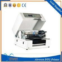 DIY font b dtg b font font b printer b font Flatbed t shirt printing machine