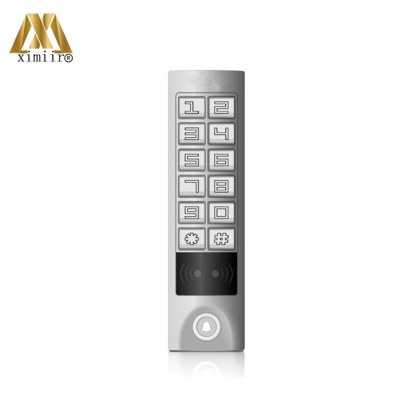 IP65 Waterproof Smart Door Lock 125KHz RFID Card With Touch Keypad M08T Single Door Access ControlIP65 Waterproof Smart Door Lock 125KHz RFID Card With Touch Keypad M08T Single Door Access Control