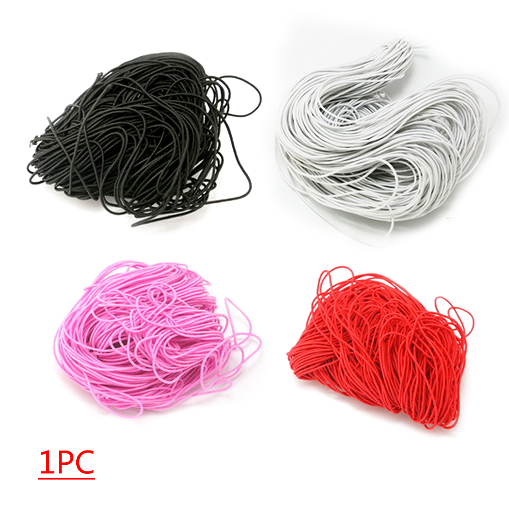 25m Dia 1mm Strong Stretch Elastic Cord Wire Rope Bracelet