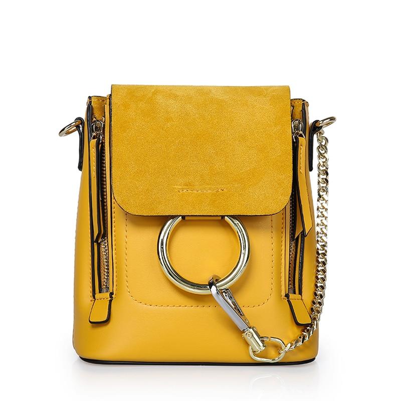 LUODUN2018 casual avantgarde läder handväska sommar liten väska - Handväskor - Foto 1