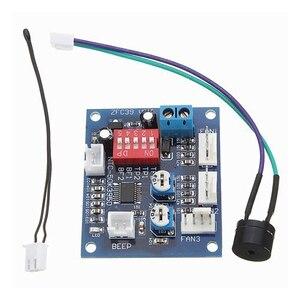 Image 1 - DC 12V 5A PWM PC CPU Fan Temperature Control Speed Controller Board Speed Controller Temperature Probe Buzzle
