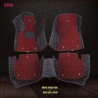 XWSN custom car floor mats for chrysler 300c chrysler voyager Auto accessories floor mats for cars