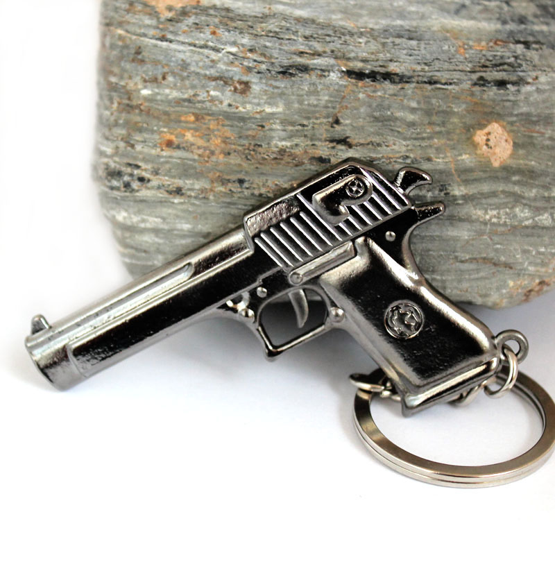 Counter Strike CS CF Imitation guns AK47 Guns Keychain Sniper Keychain Key ring Chaveiro Jewelry Souvenirs Gift For Men