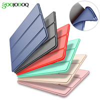 Case For New IPad 9 7 2017 Smart Cover Soft TPU Silicone Back For Apple IPad