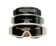 ESS Hochwertige Ski Brille Outdoor Winddicht Snowboard Gafas Ski Brillen Männer Taktische Gläser Reizbrille 3 Objektiv