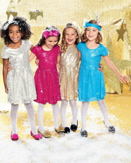 2017 Summer New Girl Perform Dress Sequins Party Princess Dress Children Clothing 3 8T Only Include