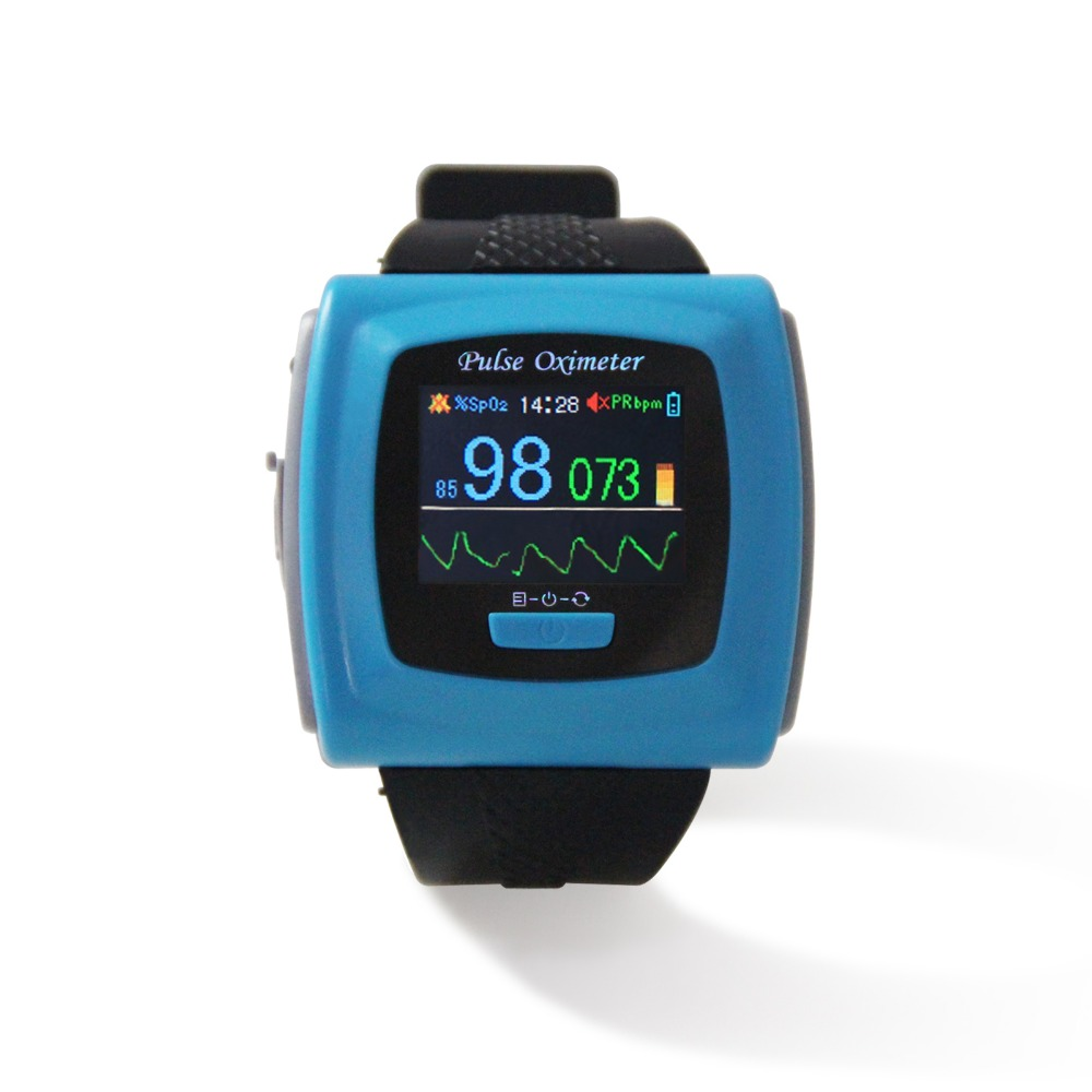 USA STOCK!FDA wrist Pulse Oximeter Fingertip Oxygen Monitor SPO2 PR,color,SW,USB CMS50F cms50iw bluetooth pulse oximeter wrist sound pi pulse oxygen saturation pr sw digital wrist pulse oximeter spo2 monitor finger