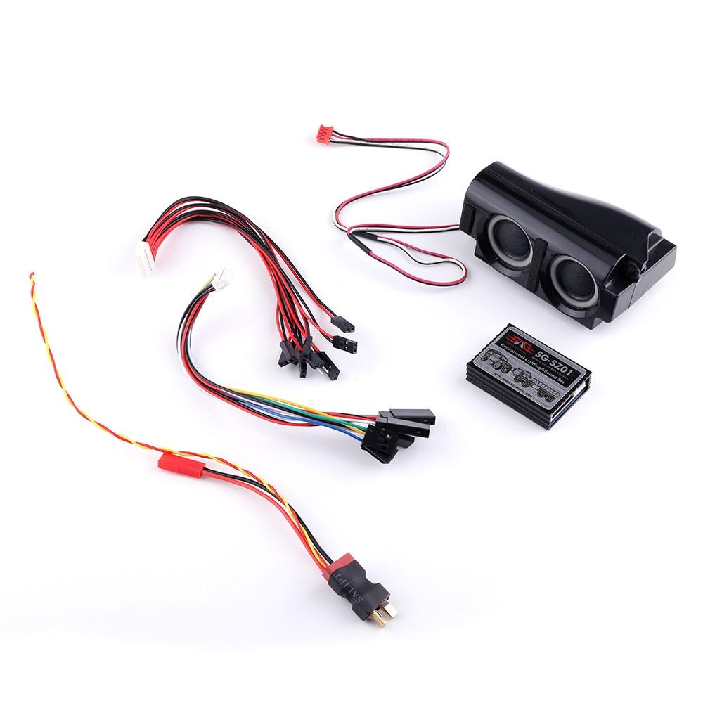 Audio Simulation Sound Rc Car Ess Engine Set Sg Sz02 Trailer Together With Dji Naza V2 Wiring On Camper 3 In 1 Simulator System Emulational Lighting Smoke For Traxxas