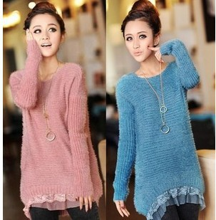 2013 New Design Popular Korea Long Sleeve Knitting Sweater Woolen Fall    Winter Top Lace Sweater. Aliexpress com   Buy 2013 New Design Popular Korea Long Sleeve