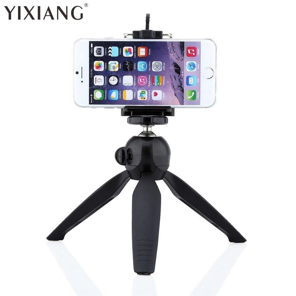 YIXIANG Yungteng 228 Mini Tripod Triped + Mbajtës telefoni Desktop - Kamera dhe foto