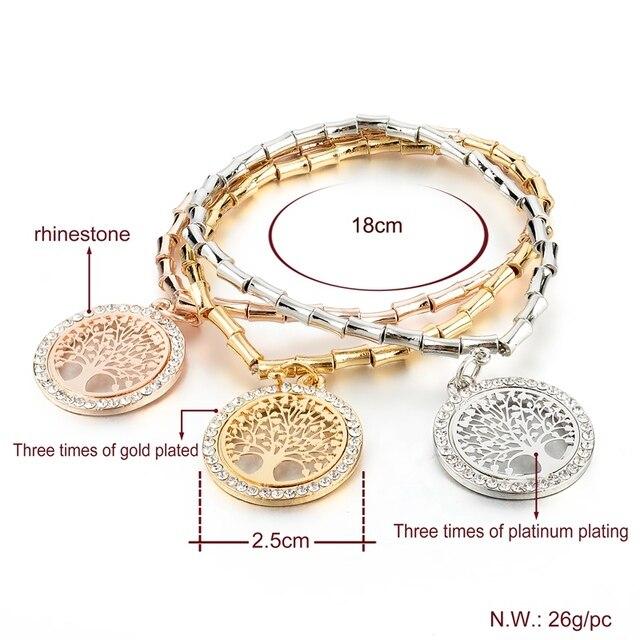 Женский винтажный браслет цепочка chicvie Круглый из золотого