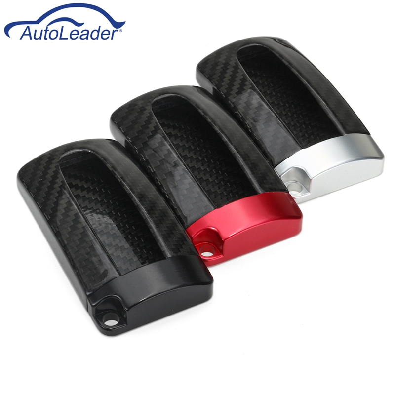 Real Aluminum Base Carbon Fiber Red Remote Key Fob Case Shell Cover For Nissan For Infiniti GTR масляный фильтр infiniti qx56 qx80 gtr