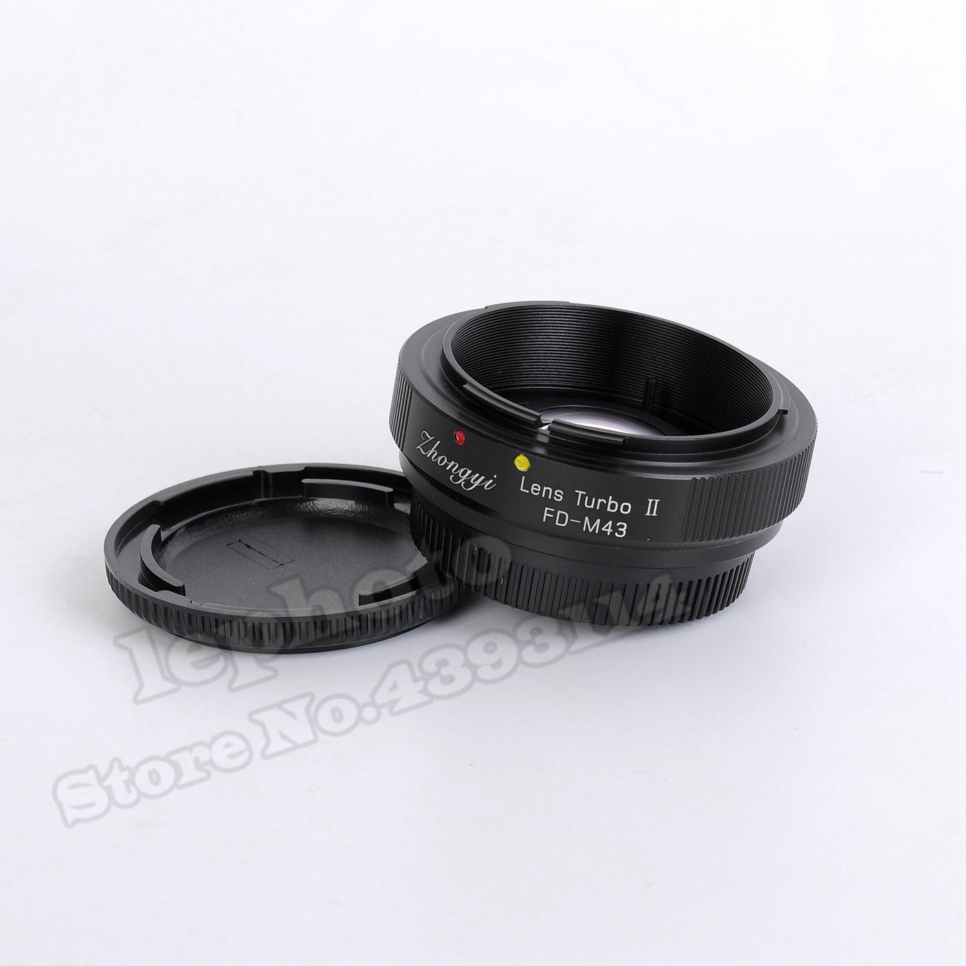 Mitakon Zhongyi Lens Turbo II Focal Reducer Booster Adapter for Canon FD Mount Lens to Micro