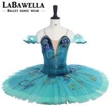 La Esmeralda Variation Professional Stage Costume Tutu Green Sleeping Beauty USA Ballet Comeptiton Girls Adult BT9038