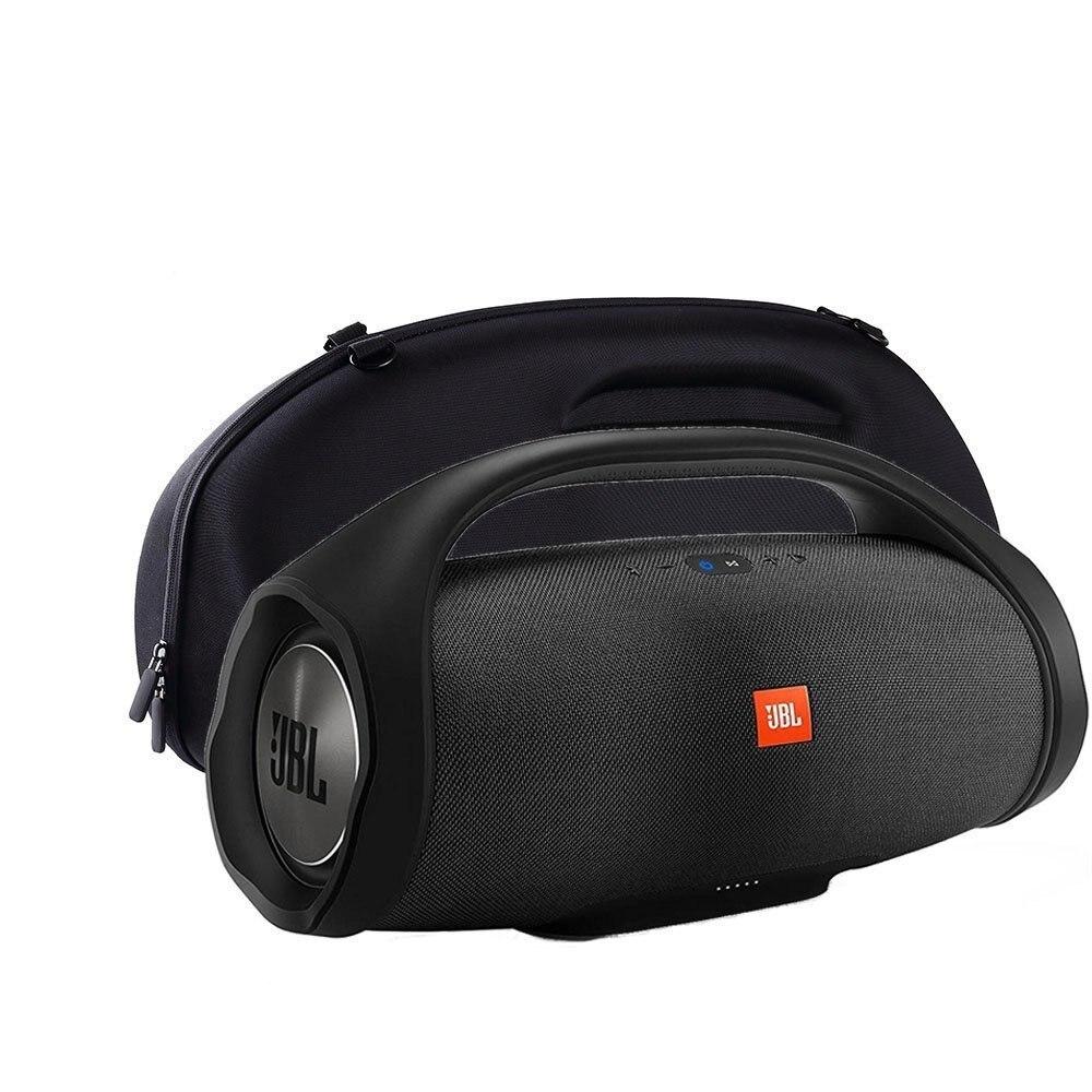 Top Deals Hard Protective Case, Custom Speaker Protective Case Bag for JBL Boombox Wireless Bluetooth Speaker - Black protective hard zipper case for glasses black