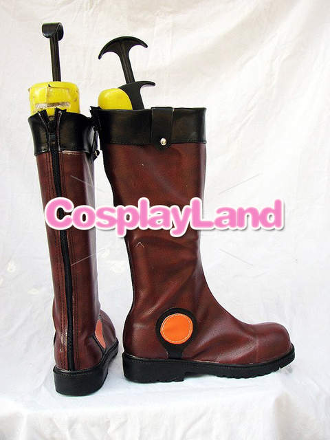Anime Cosplay Shoes in Fudo from Party Yu 10OFF NoveltySpecial Use Made Boots 29 Cosplay US42 Shoes Shoes OhYusei Custom Brown Men Gi Boots R3Aq5j4L