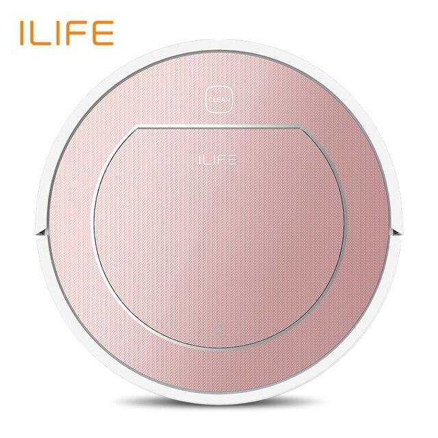 ILIFE V7s Plus odkurzacz robot Sweep i mop do mycia na mokro jednocześnie do twardych podłóg i dywan uruchomić 120 minut przed automatycznie ładować