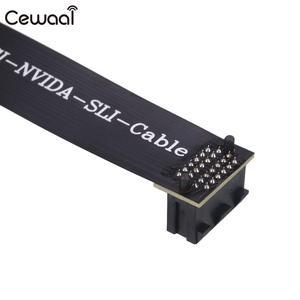 Image 2 - Adapter Grafikkarten Anschluss Braun SLI Brücke VGA Flexible Crossfire Solide High Speed Transmission für NVIDIA