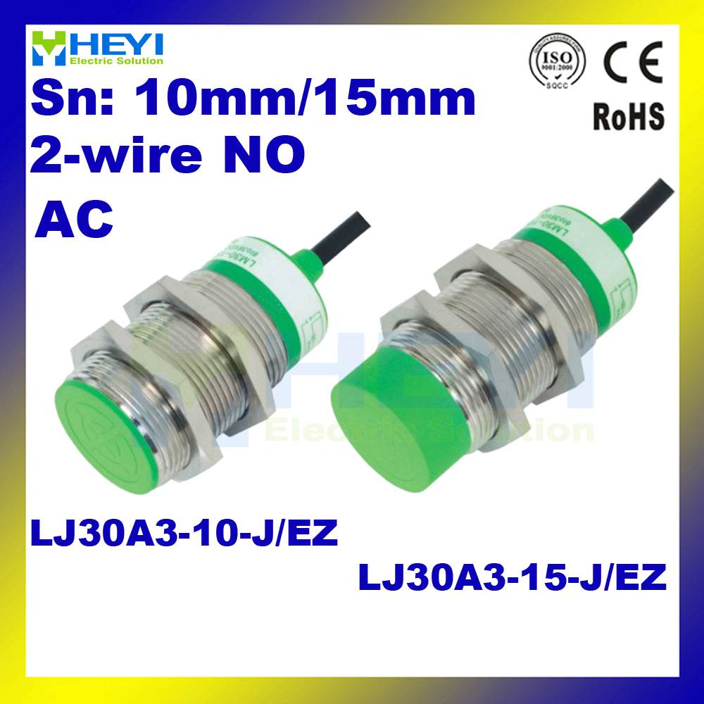 inductive proximity sensor LJ30A3 15 J/EZ 2Wire AC90V 250V NO Detection  distance 15mm proximity switch-in Switches from Lights & Lighting on  Aliexpress.com ...