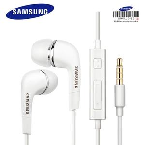 Image 1 - Samsung auriculares EHS64 con cable y micrófono, genuinos, e Ios para teléfonos android, S3, S4, S7, S8, S8, S9, S9
