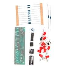 New Arrival NE555 + CD4017 LED Flash DIY Kit 3-5V Light LED Module