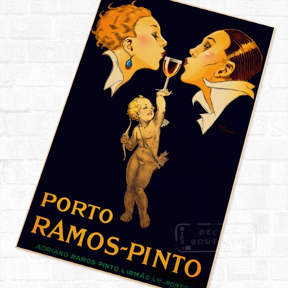 Porto Ramos Pinto Vintage Advertising Art Poster 24x36