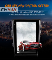 ZWNVA Tesla Style Screen Newest Android 6 0 64 2GB Car GPS Navigation DVD Player For