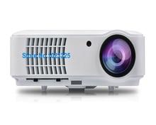 5500 люмен смарт-жк-телевизор led проектор full hd 1920×1080 3d домашний кинотеатр projetor видео proyector projektor проектор