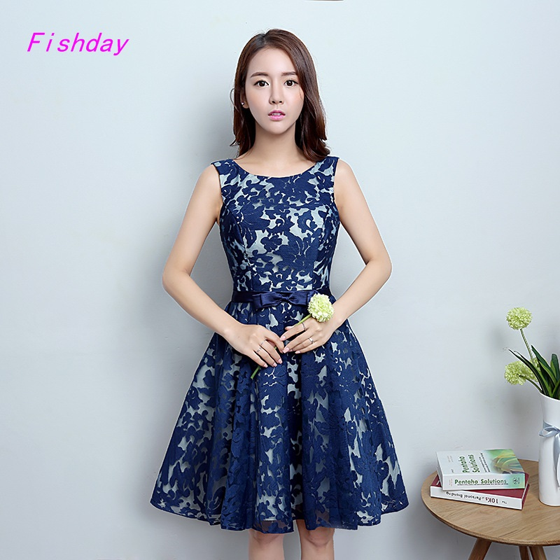 Popular Short Blue Semi Formal Dresses-Buy Cheap Short Blue Semi ...